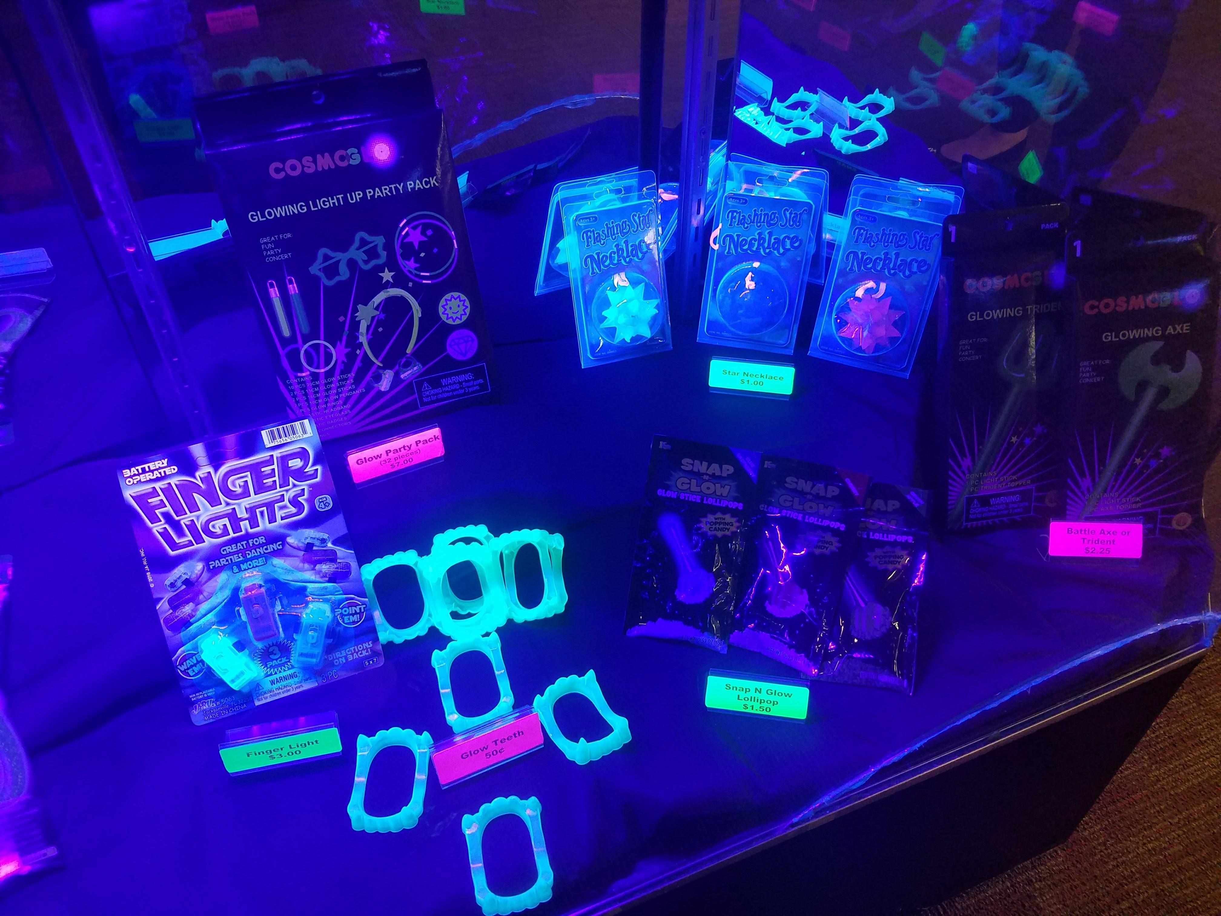 glow merchandise | glow gear | #showyourglow | glow bowling | Odyssey Fun Center | Sheboygan Falls WI