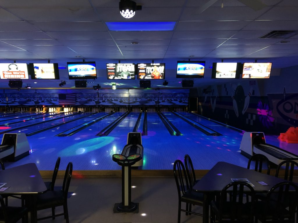 Galactic Bowling | Glow Bowling | Cosmic Bowling | Odyssey Fun Center | Sheboygan Falls WI