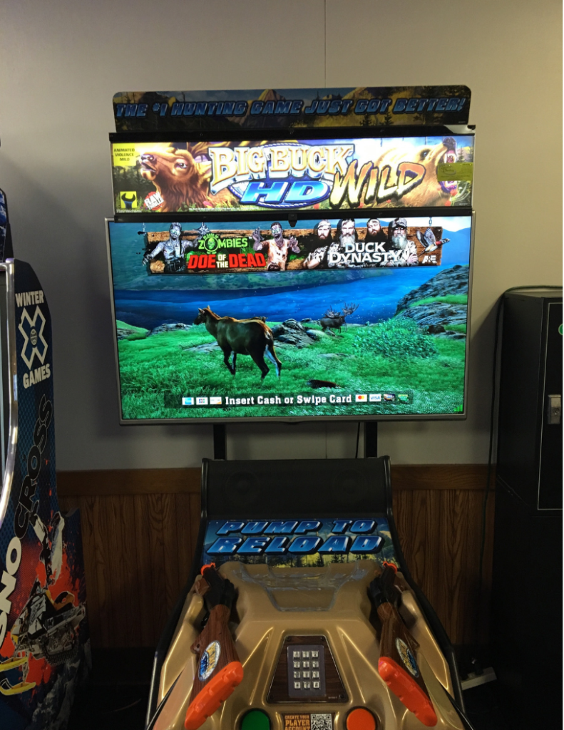 big buck wild | arcade games | bar games | shooter games | odyssey fun center | sheboygan, wi
