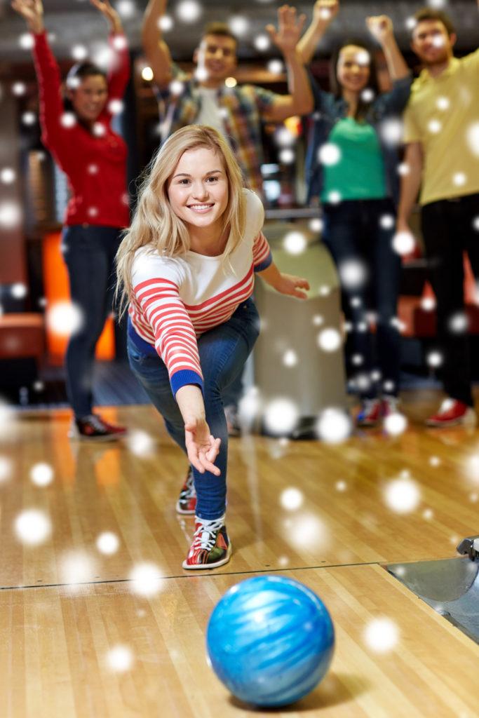 holiday bowling | holiday parties | bowling holiday parties | easy holiday party planning | odyssey fun center | sheboygan, wi