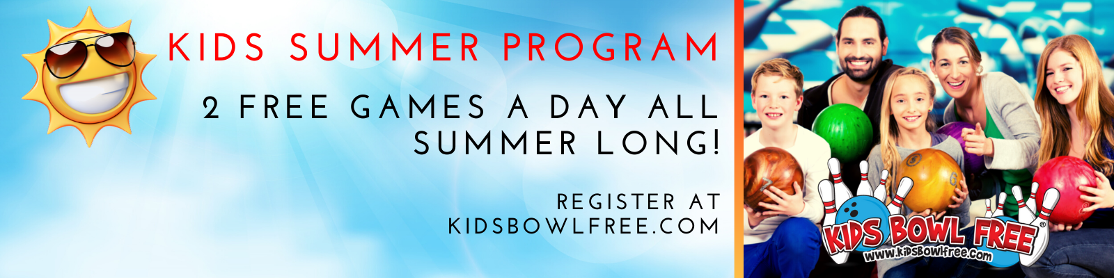 Kids Bowl Free National Program | Odyssey Fun Center Participant